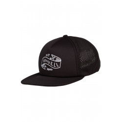 Henram Trucker Cap Black