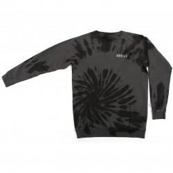 Clake Sweatshirt Black Tie Dye