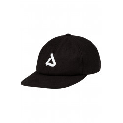 Packam 6 Panel Cap Black
