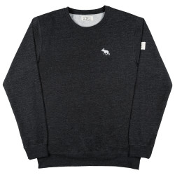 Mokem Sweatshirt Heather Black