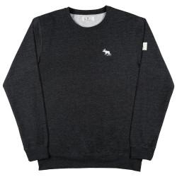 Mokem Sweatshirt Heather Black
