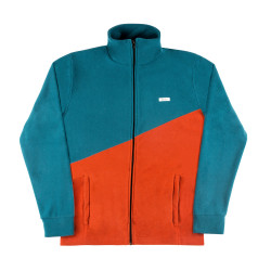 Waldrum Jacket Teal Used Red
