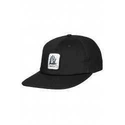 Arkam 6 Panel Cap Black