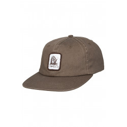 Arkam 6 Panel Cap Brown