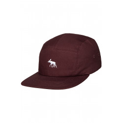 Moosam 5 Panel Cap Bordeaux