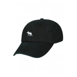 Moosies Dad Cap Black