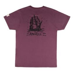 Arker T-Shirt Plum