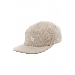 Moosam 5 Panel Cap Beige Linen