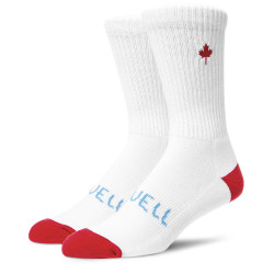 Referocks Socks White Red
