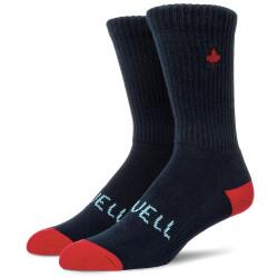 Referocks Socks Dark Navy Red