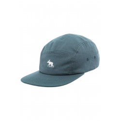 Moosam 5 Panel Cap Lead Grey