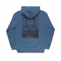 Yondor Hoodie Blue